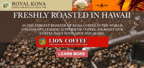 Freshly Roasted Kona Coffees